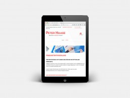Website Peter Haase